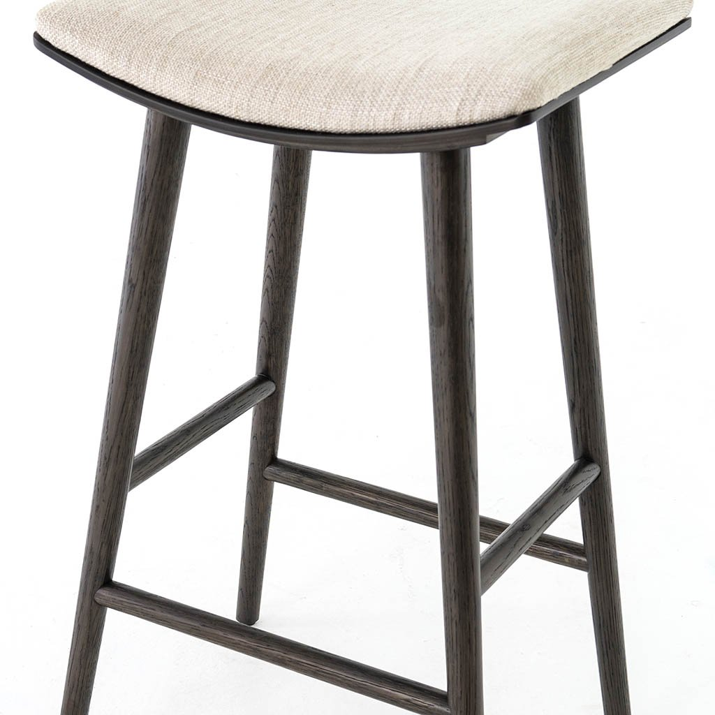 upholstered counter stool by four hands