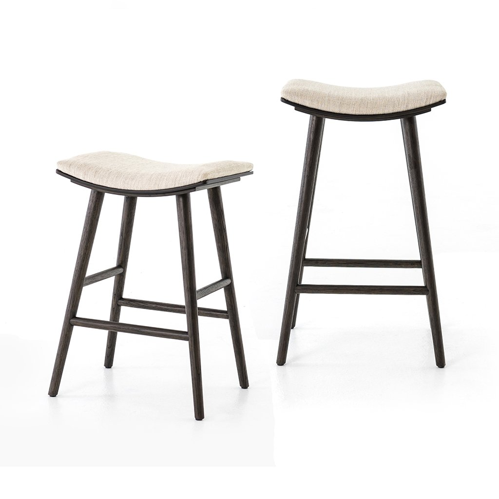 Union Barstool and counter stool by Four Hands furniture