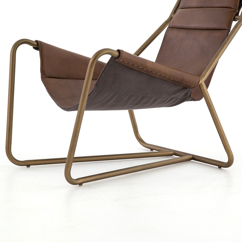 Four Hands Furniture Vera Chair - Patina Brown Leather