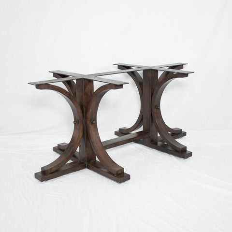 Miners Long Dining Table Base