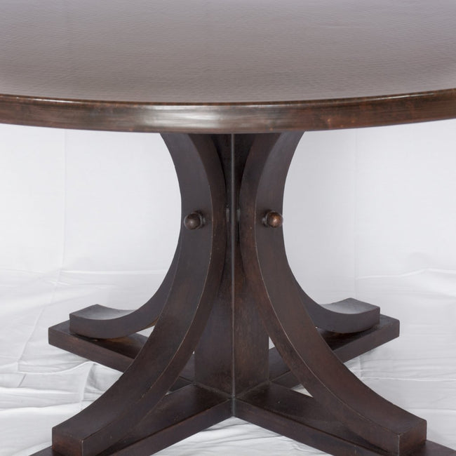 Vestal Copper and Iron Dining Table at Artesanos Design Collection