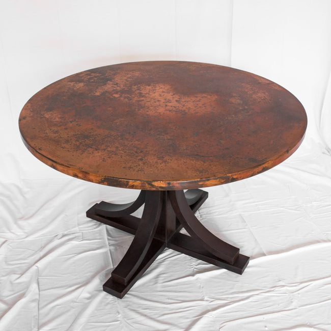 Vestal Copper and Iron Dining table