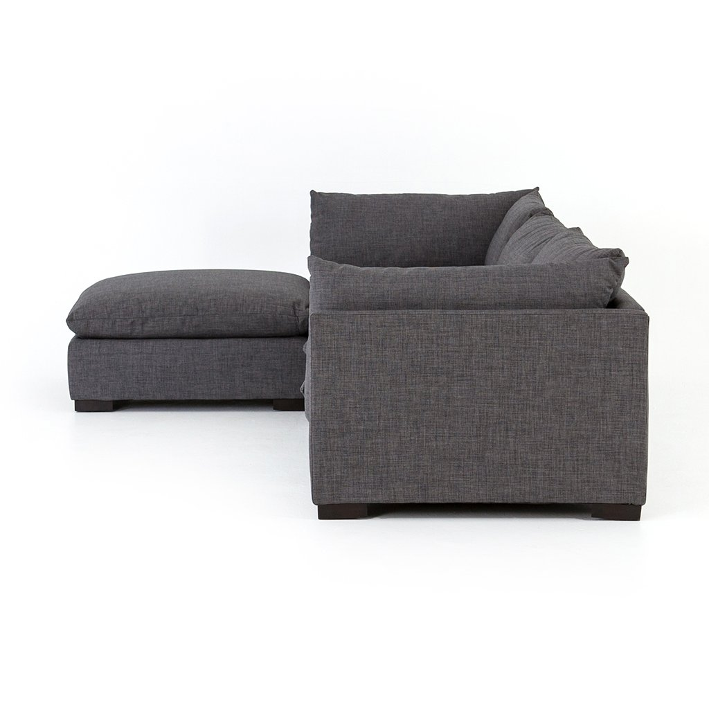 ottoman and sectional sofa