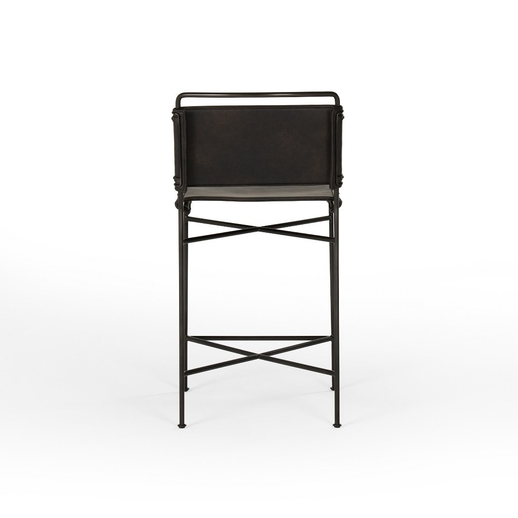 Wharton Bar & Counter Stool Back View