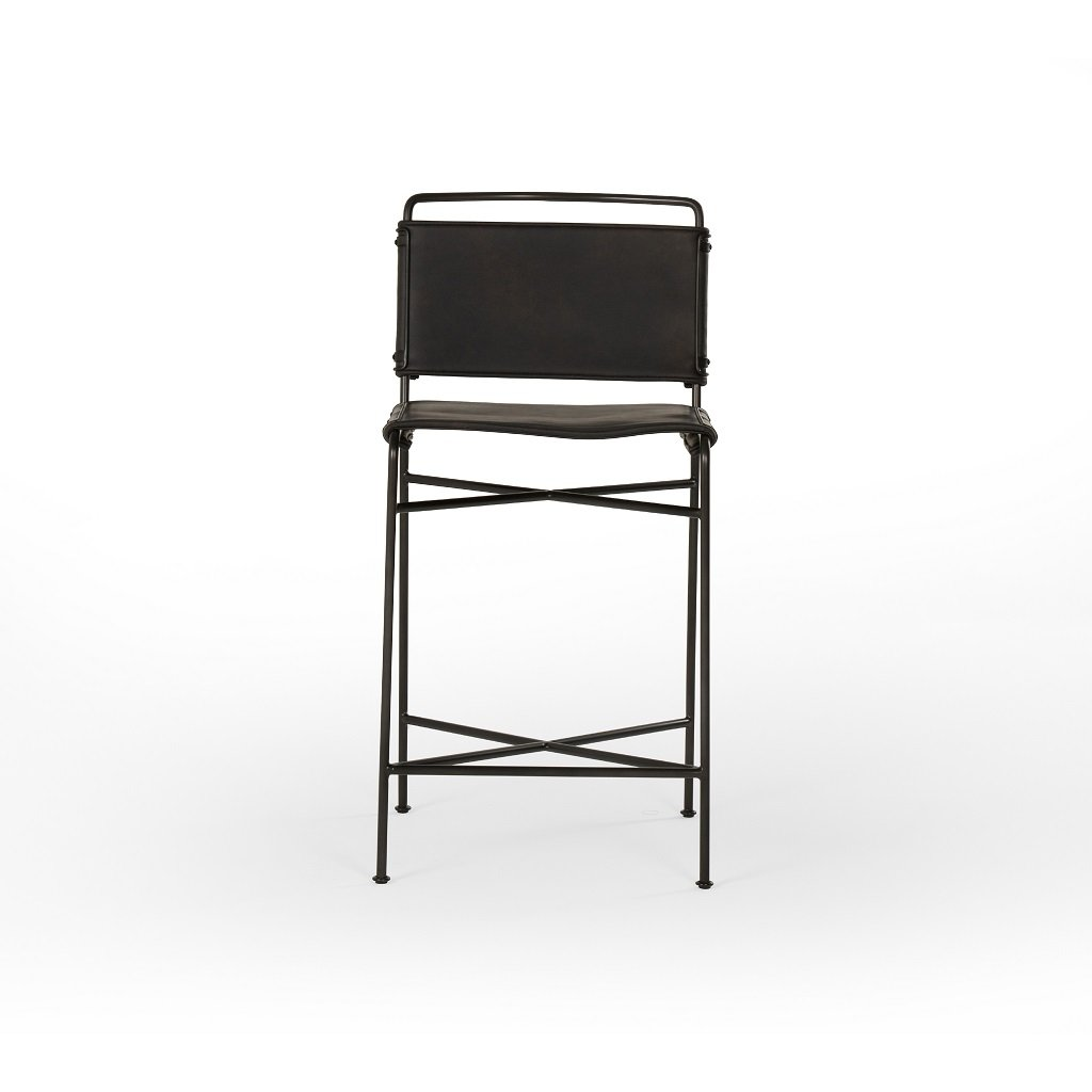 Wharton Bar & Counter Stool Front View