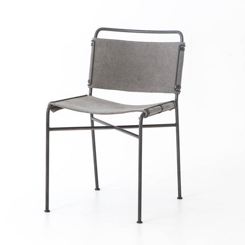Rosalind Side Chair - Steel