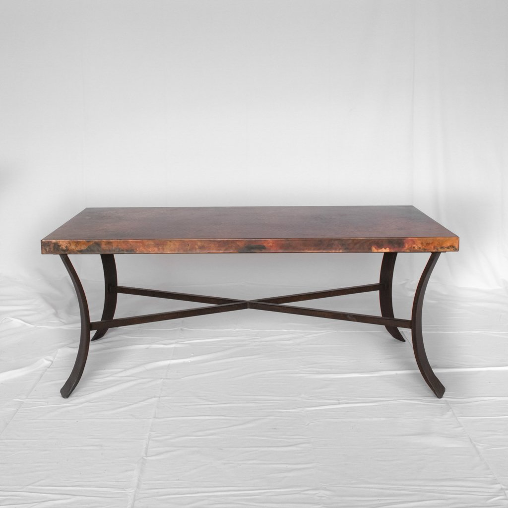 Copper Coffee Table rectangle