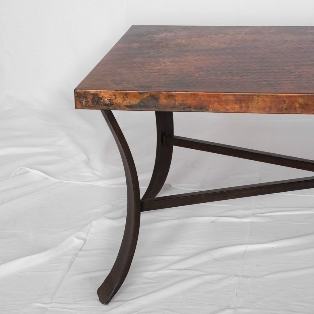 Windom Coffee Table Copper Top
