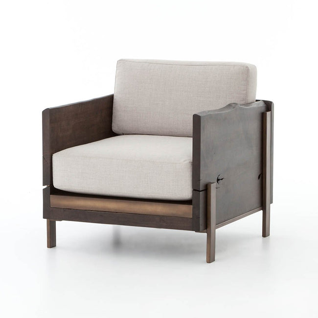Four Hands Woodrow Arm Chair - Bennett Moon UWES-074