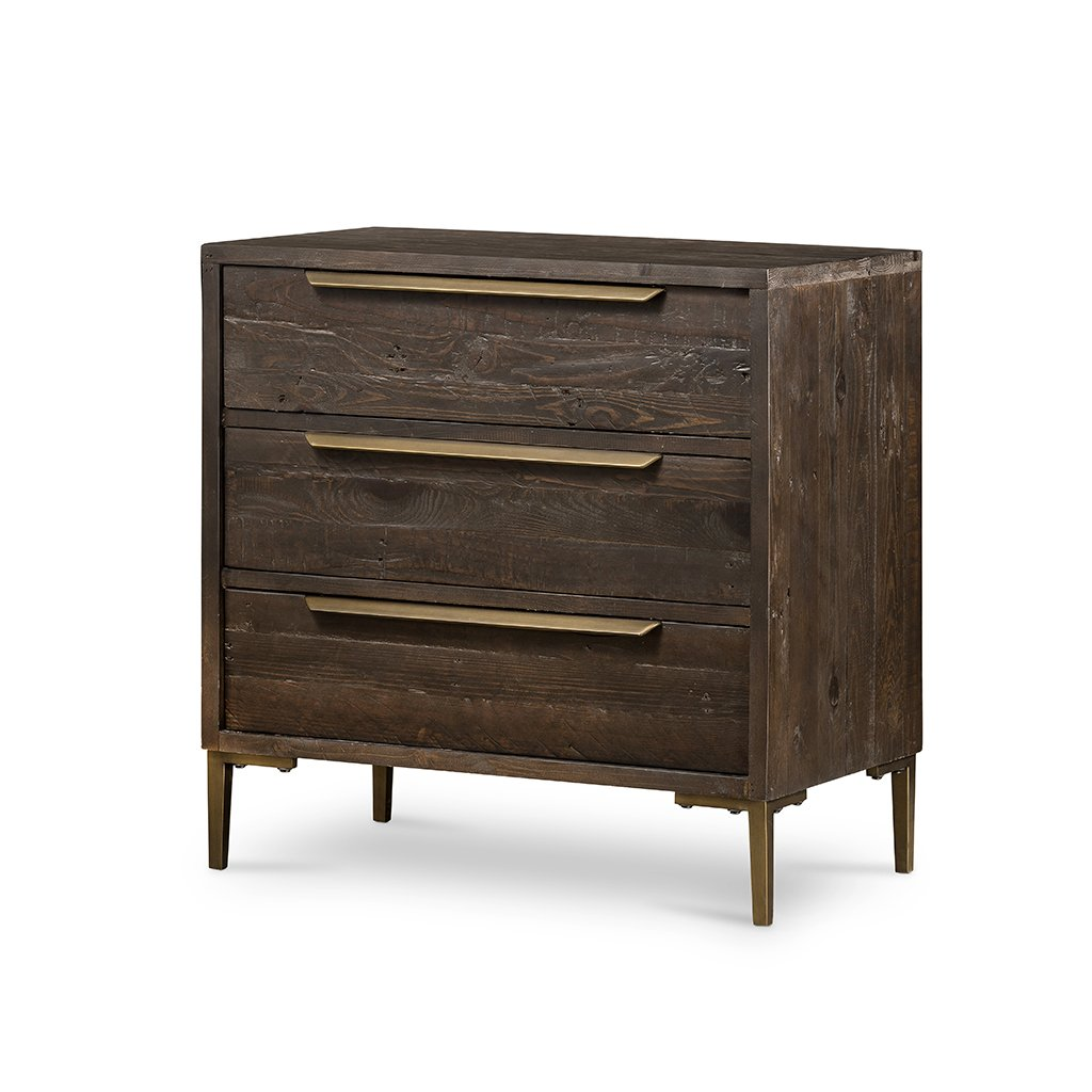 Wyeth 3 Drawer Small Dresser VWYT-003B