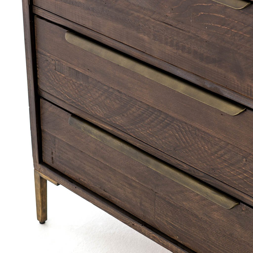 Wyeth 3 Drawer Small Dresser VWYT-003B drawer detail