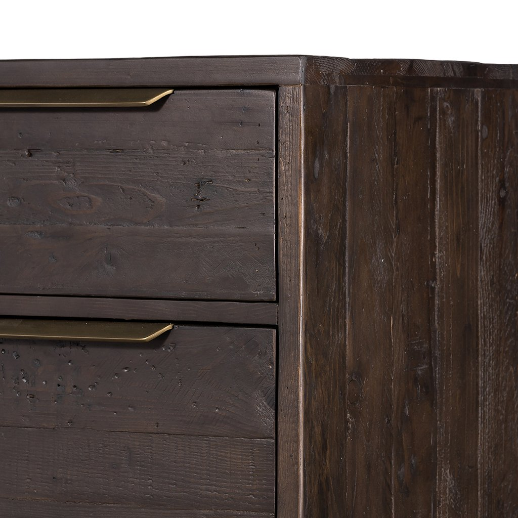 Wyeth 5 Drawer Dresser VWYT-004B Top Corner detail