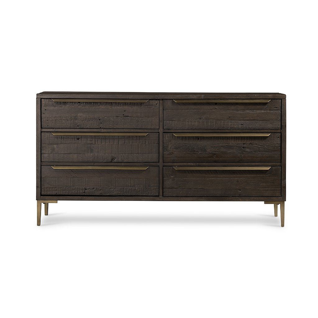 Wyeth 6 Drawer Dresser - VWYT-005B Front Profile View