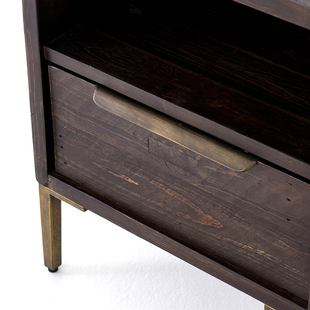 Wyeth Nightstand VWYT-001B Four Hands drawer detail