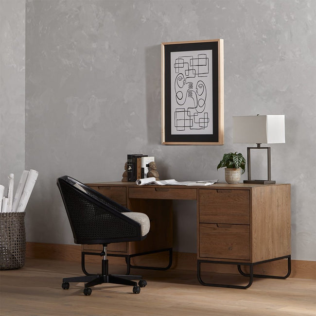 Four Hands Wylde Desk Chair - Orly Natural
