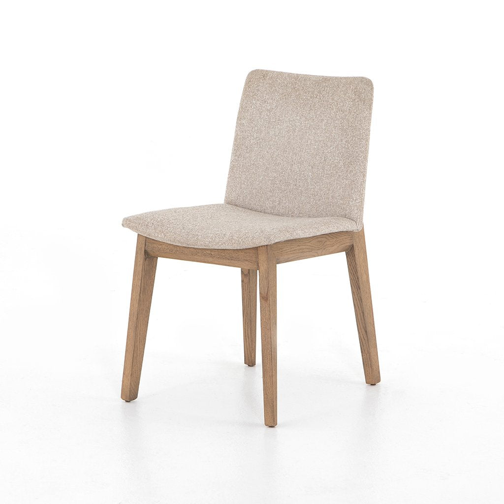 Zane Upholstered Dining Chair - Light Camel