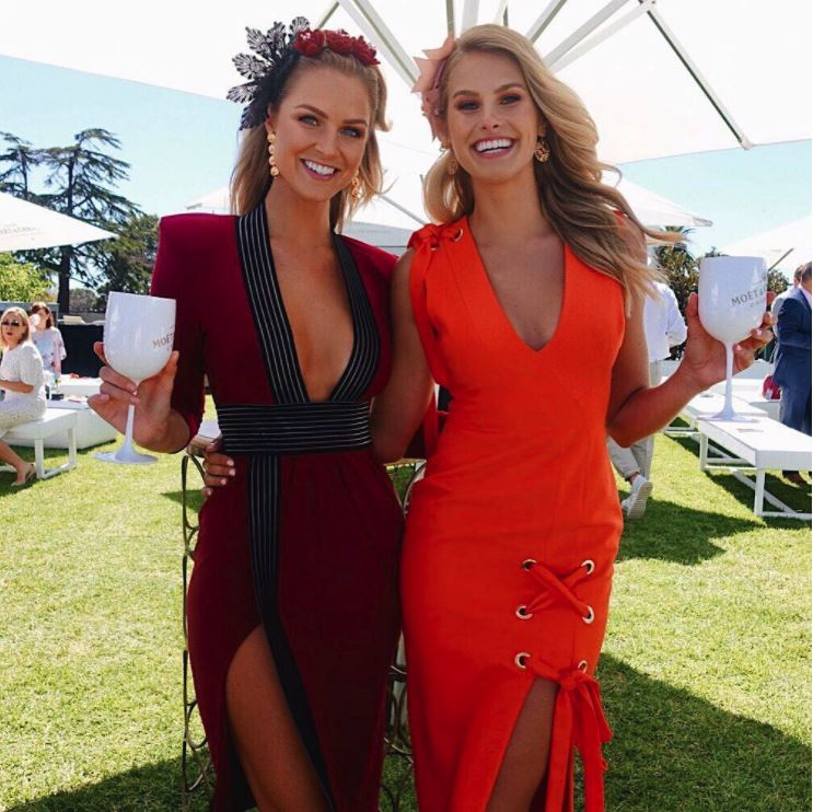 Natalie Rose & Renae Eyris at Caulfield Guineas Day