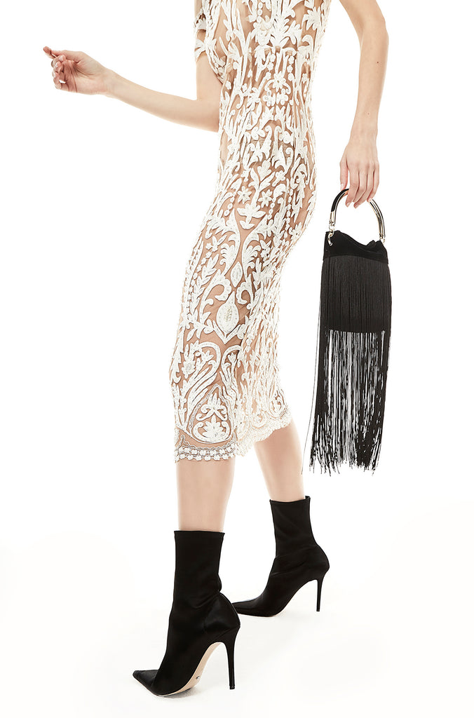 Fringed Handle Bag