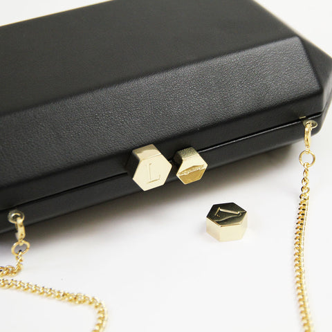 olga berg personalisation clutch