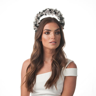KARLIE Floral Halo Fascinator