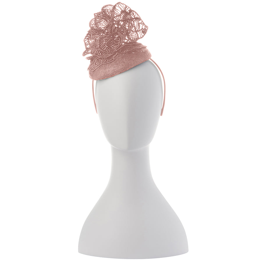 KIARA Leaf Lace Fascinator