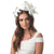 LIL Faux Nappa Fascinator