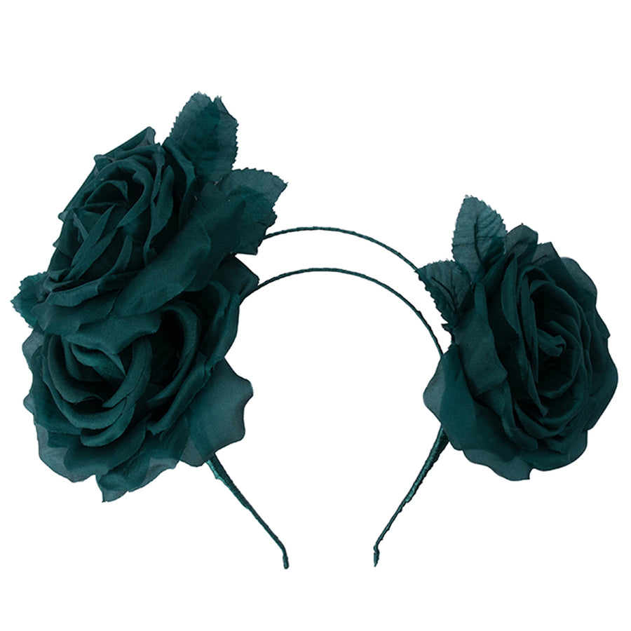 TREY Assymetric Rose Headband