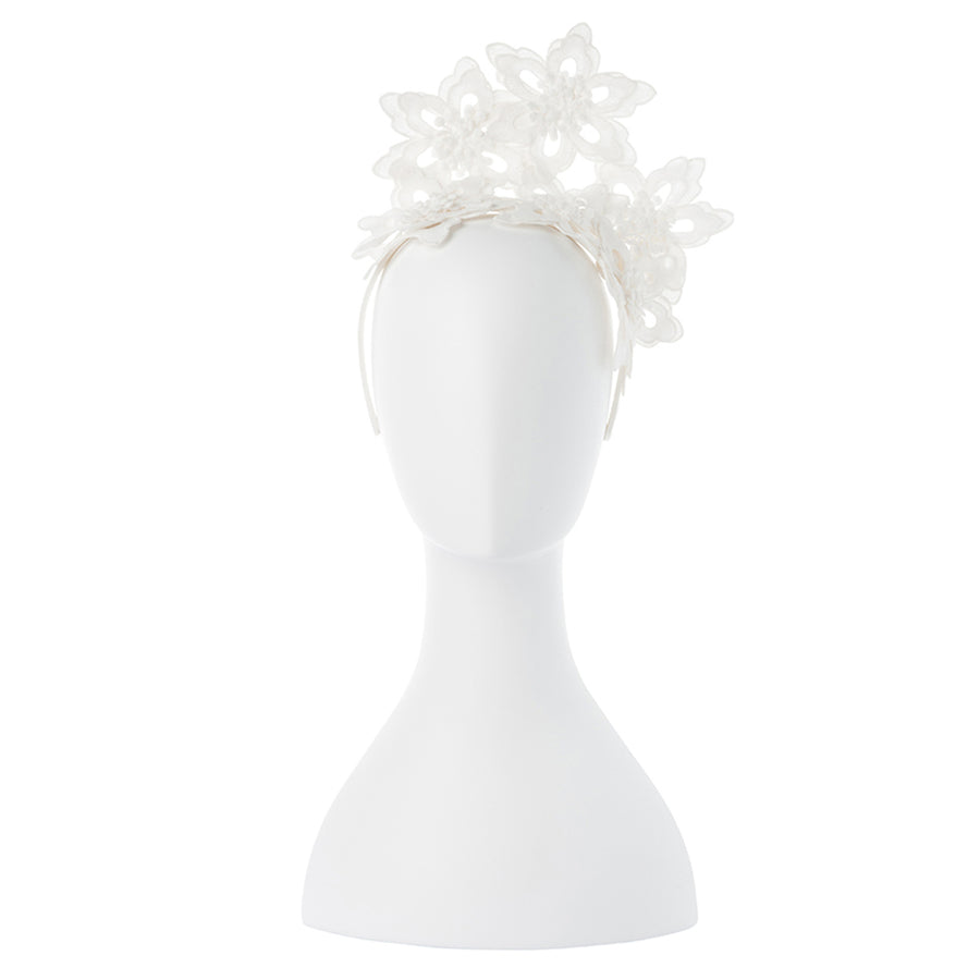 EVERLEY Floral Lace Fascinator