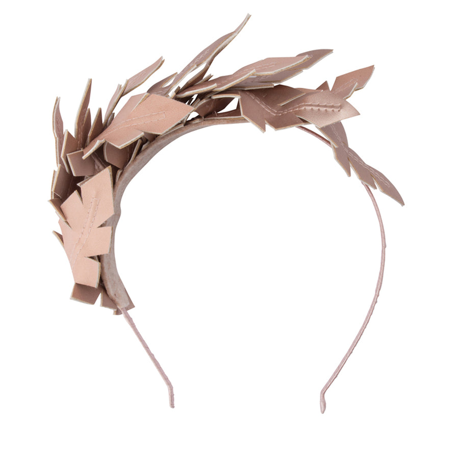 HOLLIDAY Two Tone Leaf Headband