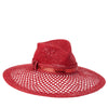 MAXWELL Straw and Mesh Hat