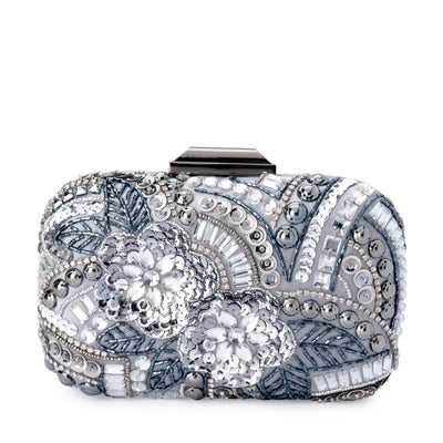 GREA Heavily Beaded Clutch Olga Berg Bag