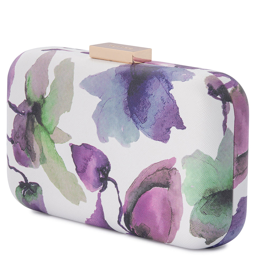 Olga Berg NATALIA Floral Clutch Bag