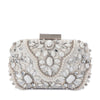 Olga Berg CLARISE Jewelled Clutch Bag