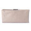 Olga Berg Liz Soft Framed Clutch evening bag in Natural colourway showing front view