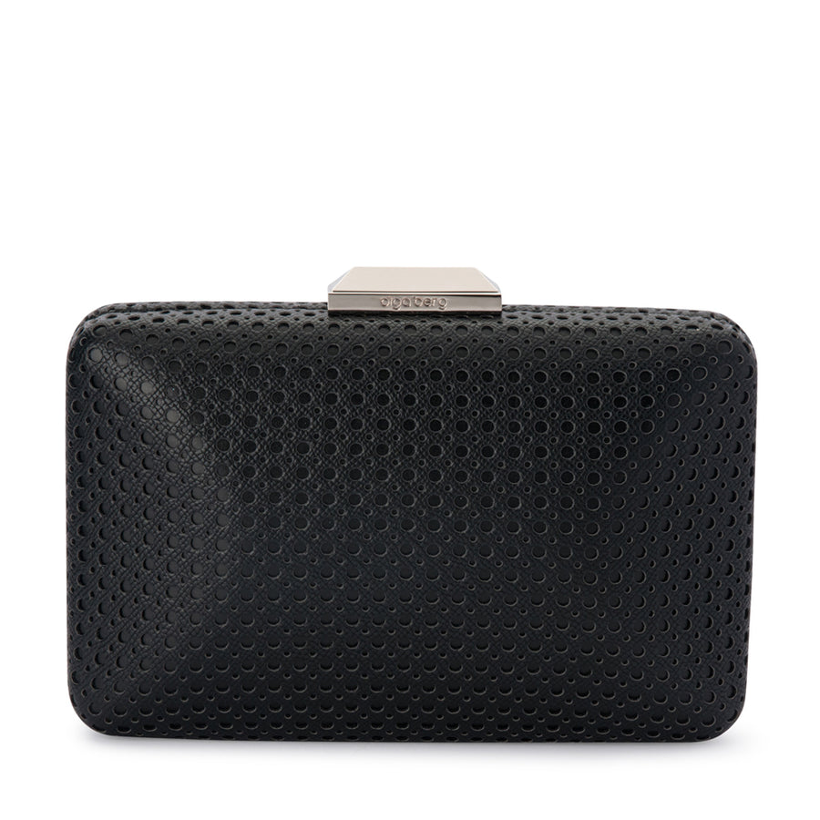 dac385c4c Black Evening Bag | Black & White Clutch Bag | OLGA BERG