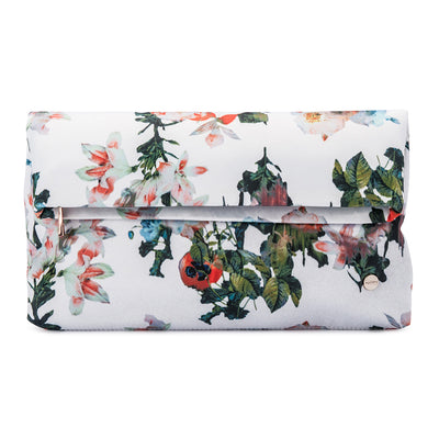 OLIVIA Printed Foldover Clutch