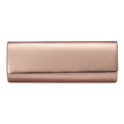 HARPER Slim Metallic Fold over
