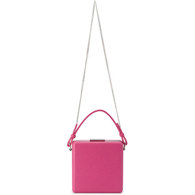 Olga Berg ASHLEY Saffiano Top Handle Bag