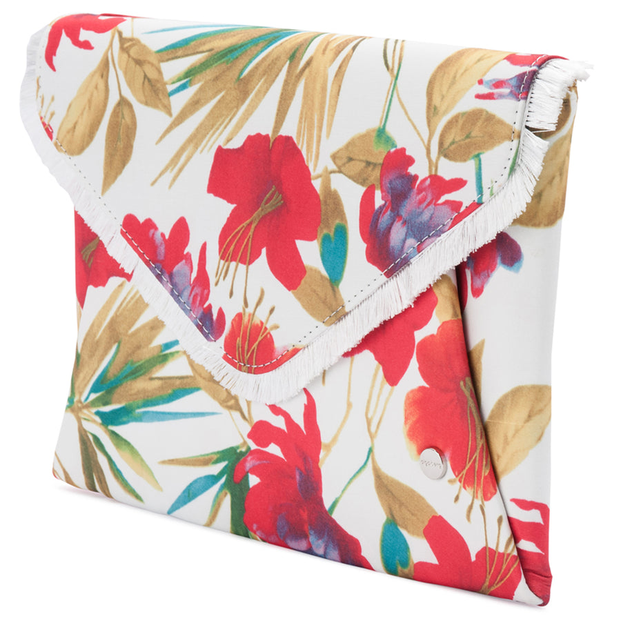MARA Floral Soft Envelope Clutch