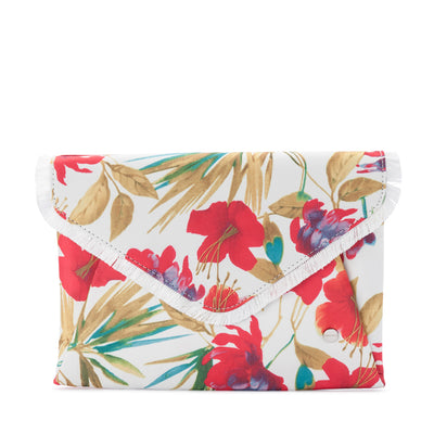 MARA Floral Soft Envelope Clutch Olga Berg Bag