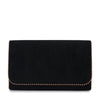 JULES Metal Trim Foldover Clutch Olga Berg Bag