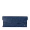 KAS Large Saffiano Foldover Clutch Olga Berg Bag