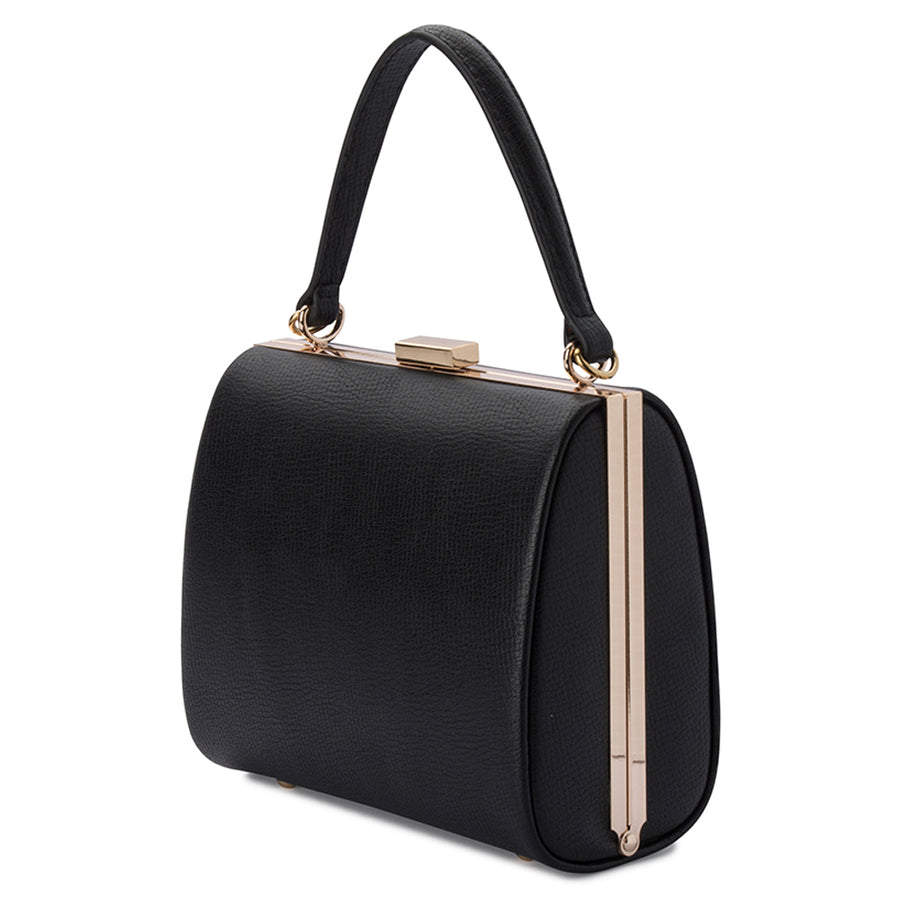 LARA Framed Top Handle-Bag-Olga Berg