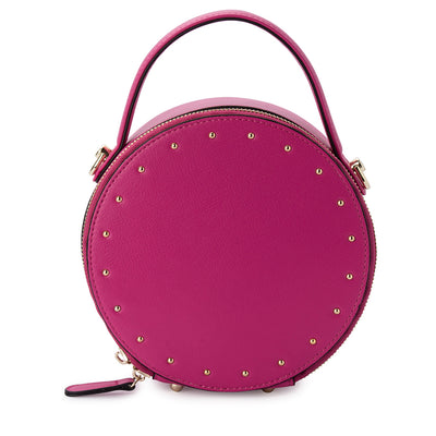 LUCETTE Round Studded Top Handle-Bag-Olga Berg