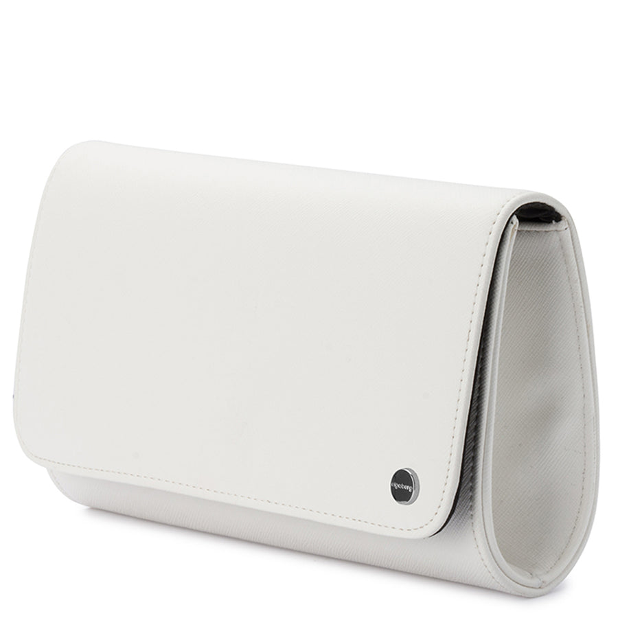 ANABELLE Saffiano Fold Over Clutch