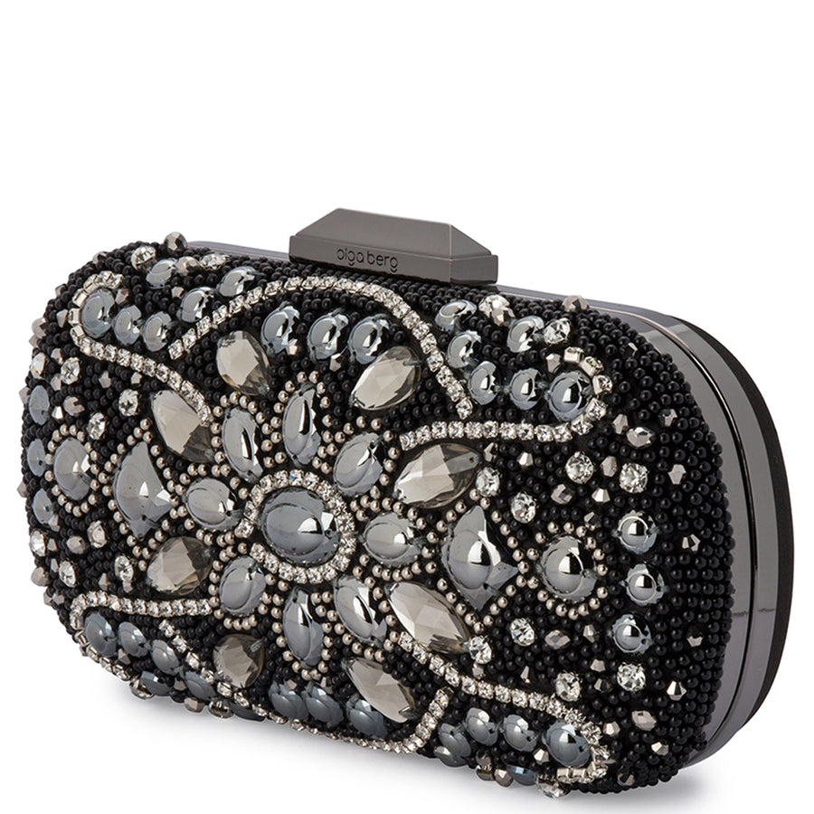 MARIAH Heavily Beaded Clutch-Bag-Olga Berg
