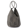 Olga Berg ELLIE Crystal Mesh Ring Handle Bag