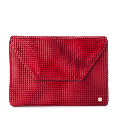 STARLIGHT Star Mesh Envelope Clutch Olga Berg Bag