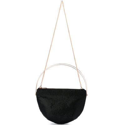 RONDELLA Flat Mesh Handle Bag Olga Berg Bag