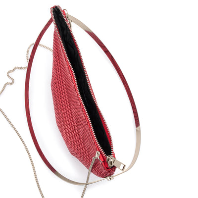 RONDELLA Flat Mesh Handle Bag